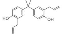 Diallyl bisphenol A Structure