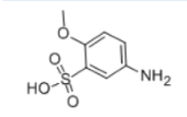 P-Anisidine-3-sulfonic acid Structure