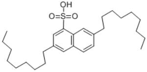 Dinonylnaphthalene sulfonic acid Structure