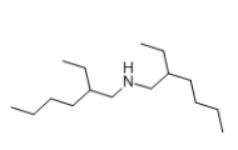 Bis(2-ethylhexyl)amine Structural
