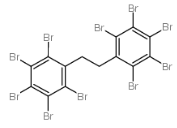 Decabromodiphenyl Ethane Structure