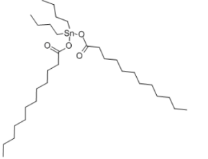 Dibutyltin dilaurate Structure