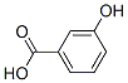 m-hydroxybenzoic acid Structure