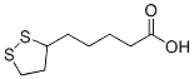 Lipoic acid Structure