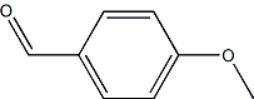 CAS 123-11-5 (p-Anisaldehyde) Structure