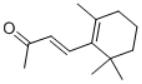 beta-Ionone Structure