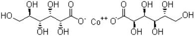 Cobalt Gluconate Structure