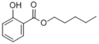 CAS 2050-08-0 (Amyl salicylate) Structure