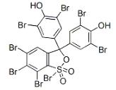 Tetrabromophenol Blue Structure