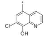 Halquinol Structure