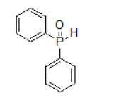 Diphenylphosphine oxide structure