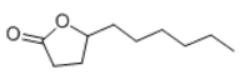gamma-Decalactone Structure