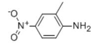 2-Methyl 4-Nitroaniline Structure