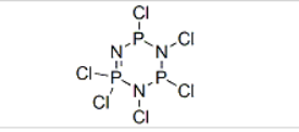 Phosphonitrilic chloride trimer Structure