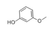 3-Methoxyphenol Structure