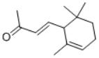 alpha-Ionone Structure