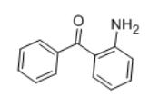 2-Aminobenzophenone Structure