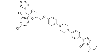 Itraconazole Structure