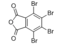 Tetrabromophthalic anhydride Structure