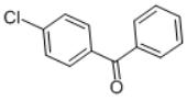 4-Chlorobenzophenone structure