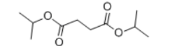 Diisopropyl succinate Structure