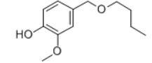Vanillyl butyl ether Structure