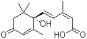 ( )-Abscisic acid Structure