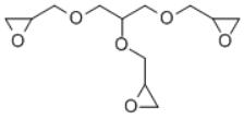 Glycerol triglycidyl ether Structure