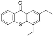 Speedcure DETX (Photoinitiator DETX) structure