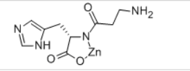 Polaprezinc (Zinc Carnosine) Structure