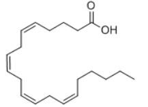 Arachidonic acid Structure
