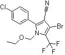 Chlorfenapyr Structure