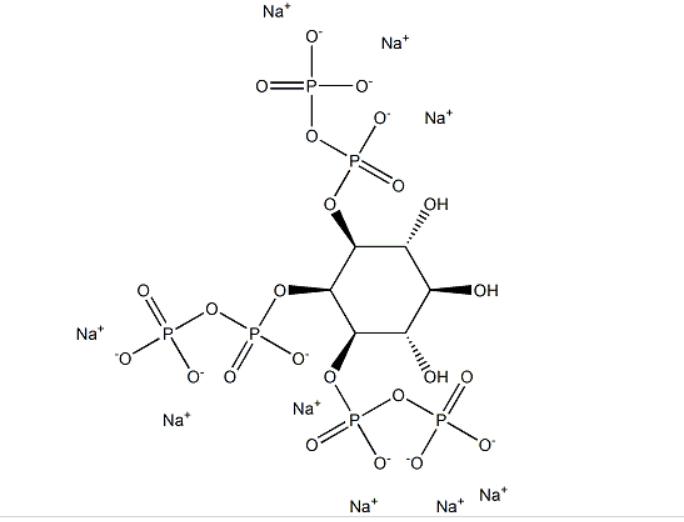 Myo-inositolTrispyrophosphate structure