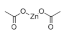 Zinc Acetate Anhydrous Structure
