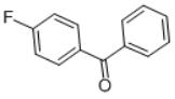 4-Fluorobenzophenone structure