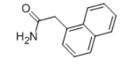 1-Naphthylacetamide Structure