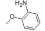 o-Anisidine (CAS 90-04-0) Structure