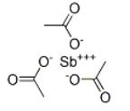 Antimony Triacetate Structure