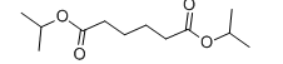 Diisopropyl adipate Structure