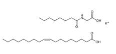 Potassium Cocoyl Glycinate Structure