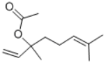Linalyl acetate Structure