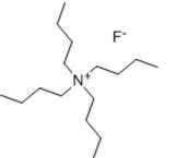 Tetrabutylammonium fluoride Structure