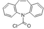 Iminostilbene carbonyl chloride Structure
