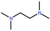 N,N,N',N'-Tetramethylethylenediamine(TMEDA) Structure