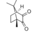 DL-Camphorquinone Structure