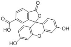 6-Carboxyfluorescein Structure