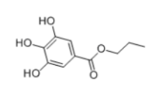 Propyl gallate Structure