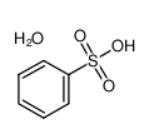 Benzenesulfonic acid monohydrate Structure