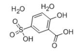 5-Sulfosalicylic acid dihydrate CAS 5965-83-3 Structure