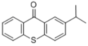 Speedcure ITX (2-Isopropylthioxanthone) structure